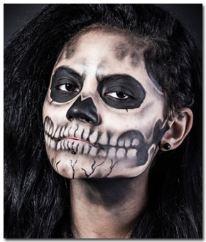 airbrush-makeup-skull-face