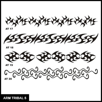 Tribal, Armband, Body Art, Stencil for Airbrush Tattoo