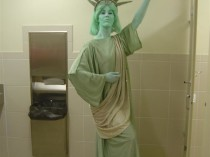 Statue of Liberty Full Body Airbrush