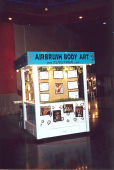 Stratosphere Airbrush Tattoo Booth