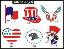 4th of July 5 (Custom)